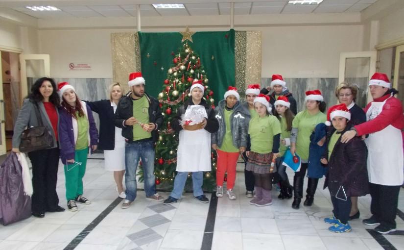 Επίσκεψη στο Γ.Ν.Α. Ευαγγελισμός τα Χριστούγεννα