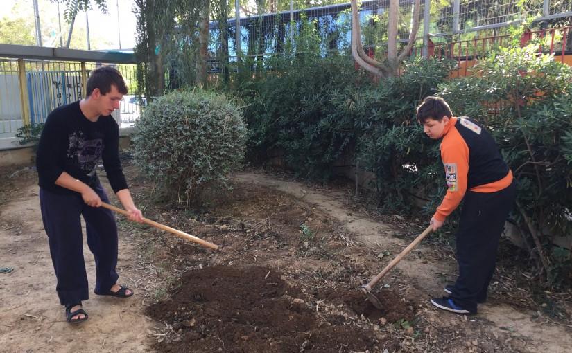 Προετοιμασία εδάφους στον κήπο